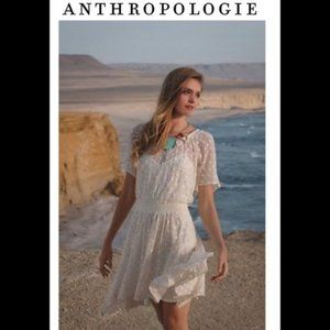 Anthropologie Leifnotes lace dress